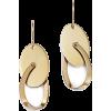 Bloomingdale's Oval Swing Earrings in 14 - Aretes -