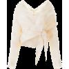 Blouses Mes Demoiselles for Women Ecru - Long sleeves shirts -