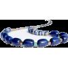 Blue Jasper Lapis Lazuli Necklace - Colares - $32.82  ~ 28.19€