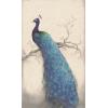 Blue Peacock Diamond Painting Kit - Animals - $11.99