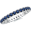 Blue Sapphire Eternity Band - Anelli - $589.00  ~ 505.88€
