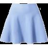 Blue Skirt - Skirts -