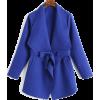 Blue coat - Jacket - coats -