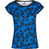 Blue Black All Over Dancing Print Tee - Magliette - $42.00  ~ 36.07€