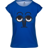 Blue Black Minimalistic Character Design - T-shirt - $39.00  ~ 33.50€