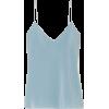 Blue Camisole - Tanks -
