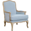 Blue. Chair - Furniture -