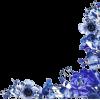 Blue Flower Corner - Ilustracije -