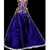Blue Gown - Vestidos -
