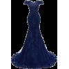 Blue Gown - Kleider -