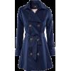 Blue H&M trenchcoat - Jacket - coats -