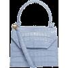 Blue. Hand bag - Hand bag -