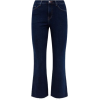 Blue Rinse Wash Frayed Kick Flare Jeans - Ghette - £5.00  ~ 5.65€