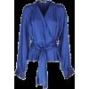 Blue Silk - Košulje - kratke -