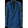 Blue - Jacket - coats -