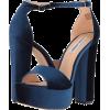 Blue - Sandals -