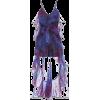 Blue and Purple Dress - Dresses -