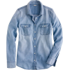 Blue button up - Long sleeves shirts -