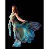 Blue dress model - People -