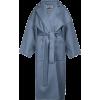 Blue grey. Coat - Jacket - coats -