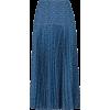 Blue satin skirt - Saias - $2,290.00  ~ 1,966.85€