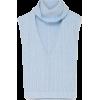 Blue sleeveless sweater - Pullovers -