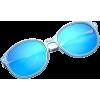 Blue sunglasses - Sunglasses -