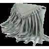 BoHo Fringe Bag In Harbor Grey - Hand bag -