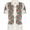 Bode floral-jacquard short-sleeve shirt - Camisa - curtas -