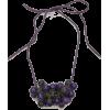 Bohemian Necklace-Purple - Necklaces -