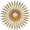 Bohemian sunburst wall art chairish - Arredamento -