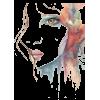 Boho Face Illustration - Illustrations -