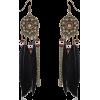 Boho Feather Earrings - Kolczyki -