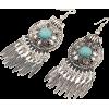 Boho Turquoise Earrings - Earrings -