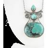 Boho Turquoise Necklace - Necklaces -