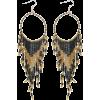 Boho beaded Earrings - Earrings -