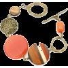 Bold orange bracelet - Bracelets - $36.00