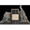 Bondslifestyle elephant bookends Kingham - Articoli -