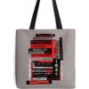 Bookish tote bag by Louise Norman - トラベルバッグ -