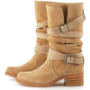 Boots Brown - Buty wysokie -