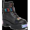 Boots black - Piattaforme -