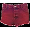 Moto Dip Dyed Denim Hotpants - pantaloncini - 38.00€