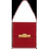 Bottega Veneta Croc-Effect Leather Shoul - Messenger bags - $2,500.00