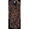 Bottega Veneta Leopard-Print Mohair Coat - Giacce e capotti -