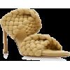Bottega Veneta Padded Intrecciato Leathe - Sandals -