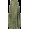 Bottega Veneta Pleated Printed Leather M - Skirts -