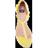 Boutique Moschino floral applique flat s - Sandals -