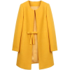 Bow Detail Coat - Jacket - coats -