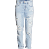Boyfriend destructed jeans - Jeans -