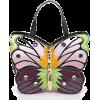 Bracciali HALF-PINK BUTTERFLY HANDBAG - Hand bag - $1,155.00